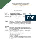 Ementa - Laboratório de Organização e Arquitetura de Computadores