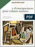 Activités D_enseignements Pour Enfants Autistes Scann