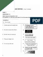 Ket Prep - Test 1 Pages 4-13