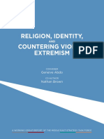 Atlantic Council-Religion, Identits, And Countering Violent Extremism