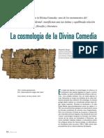 La cosmología de la divina comedia
