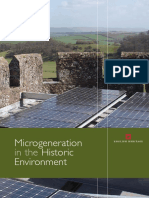 Microgeneration in the Historic Environment