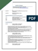 lukhvir kalyan resume