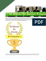 50 Afaceri de Succes Prospere