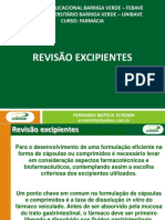 7- Revisão Excipientes - Scb