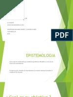 Presentacion Epistemologia Oscar Morales