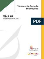 TEMA 7 TECNICO SOPORTE INFORMATICO JCYL