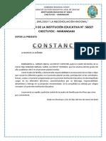 Constancia - 001 - Responsabilidad Del Buen Padre de Familia Juana Vargas 2018
