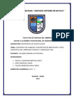 Materiales de Construccion Informe 2