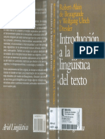 Introduccion a La Linguistica Del Texto-robert-Alain de Beaugrande y Wolfgang Urlich Dressler-pag-175