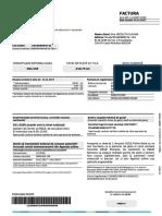 Factura ENGIE Romania Nr 010409734190