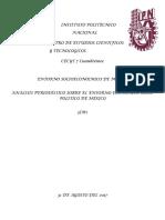 Análisis Periodístico Sobre El Entorno Económico y Socio-político en México