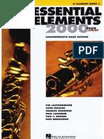 Ee2000 Bk1 - Clarinet