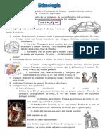 Etimologia Autós y Bíos