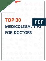 Medicolegal Tips