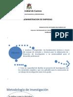 Metodologia de Investigacion Universidad Cuenca Ing. Empresarial
