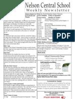 22nd September 2010 Newsletter Web