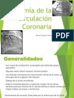 Anatomia Coronaria