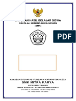 Sampul Rapor SMK Mitra Karya