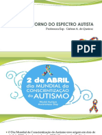 Aula Transtorno Do Espectro Autista