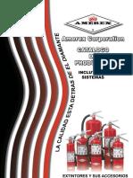 Catalogo en Español Extintores Amerex