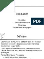 Presentahion Reseau de Neurone