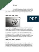La Historia de Toyota
