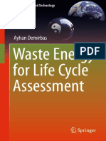 [Green Energy and Technology] Ayhan Demirbas - Waste Energy for Life Cycle Assessment (2016, Springer)