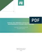 Manual Del Personal Del Área de Mantenimiento Foguista Institucional OK