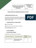 093-Coordinador Pedagogico Caqueta