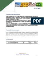 Ficha Tecnica R134A