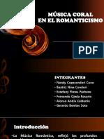 Musica Coral Romanticismo