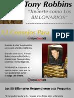 12 Consejos Billonarios