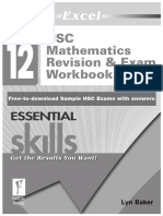 Year 12-Maths 2 Unit Resources - Excel Revision Exam Workbook