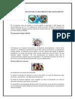Factores Básicos Para El Desarrollo Del Pensamiento Kk