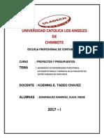 Parasitosis en La Poblacion de Santa Rosa