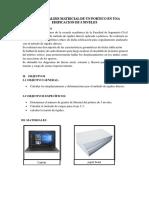 Analisis Matricial de Un Portico en Una Edificacion de 3 Niveles