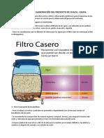 Datos Para La Elaboración Del Proyecto de Chilca