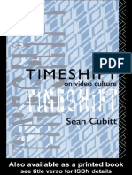 Cubitt Sean Timeshift on Video Culture