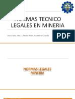 Normas Tecnicos Legales en Mineria