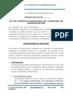 Proyecto de Ley Presentado en VI Encuentro IQUITOS