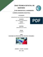 Diagramas de Operaciones Del Proceso- Ing. de Planta-1