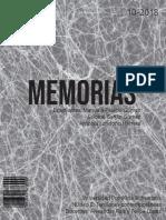 Memorias Núcleo II Tensiones contemporáneas