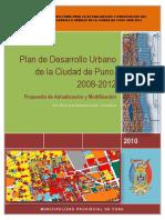Plan de Desarrollo Urbano de Puno