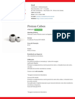 Prensa Cabos - S852CI
