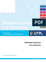 D61101  Guia Realidad Nacional MAD