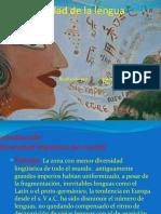 Diversidad Linguistica