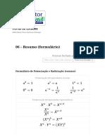 Formulário de Potenciação e Radiciação (resumo).pdf