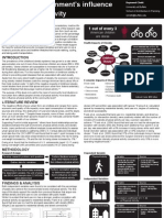 The Built Environment's Influence on Physical Activity [POSTER]