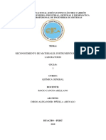 Reconocimiento de Materiales, Instrumentos y Equipos de Laboratorio
